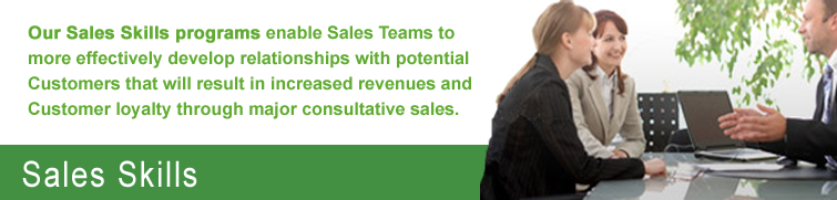 Sales Skills Training Program